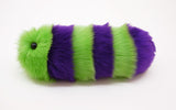 Mo the Snuggle Worm Stuffed Animal Plush Toy side view.