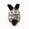 Leopold the Spotted Bunny Stuffed Animal Plush Toy back view.