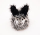 Leopold the Spotted Bunny Stuffed Animal Plush Toy front view.