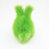 Herb the Easter bunny plush toy, back view.
