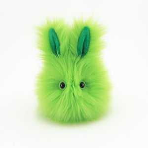 Herb the Easter bunny plush toy, front view.