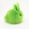 Herb the Easter bunny plush toy, side view.
