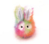 Prism the Rainbow Bunny Stuffed Animal Plush Toy front view.