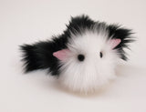 Tuffy Tuxedo the Black and White Cat Stuffed Animal Plush Toy angled view.