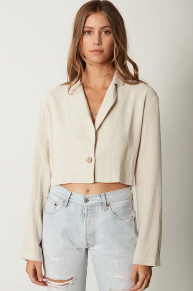 The Crop Blazer