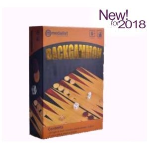 Medalist Deluxe Backgammon Set
