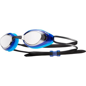 TYR Black Hawk Mirrored Racing Goggles