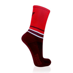 Versus Thin Cycling Socks Red
