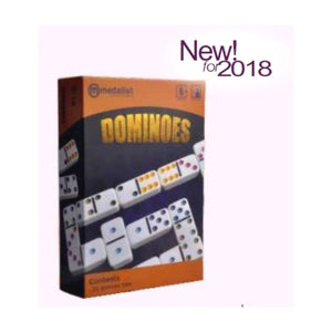 Medalist Deluxe Dominoes Set