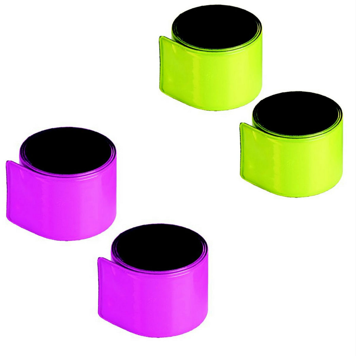 Medalist Reflective Snap Bands 1 Pair