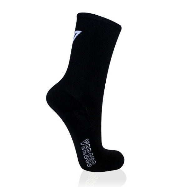 Versus Thin Cycling Socks Black