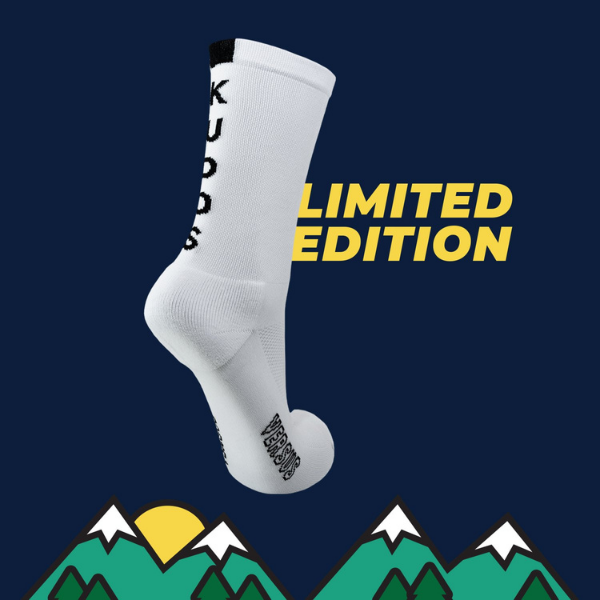 Versus Kudos White Cycling Socks (Limited Edition)