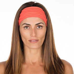 New! Coral Cotton Non Slip Headband