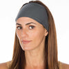 Gunmetal Cotton Non Slip Headband