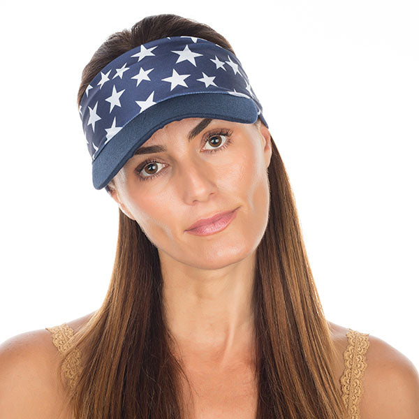 Vero Visor | Navy Stars High Performance