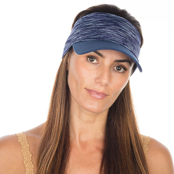 Vero Visor | Navy & White High Performance