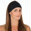 Hip Black Cotton Non Slip Headband