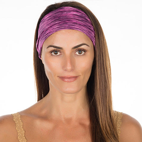 Pink & Black High Performance Non Slip Headband