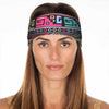 New! Aztec Groovy Tribal Non Slip Headband