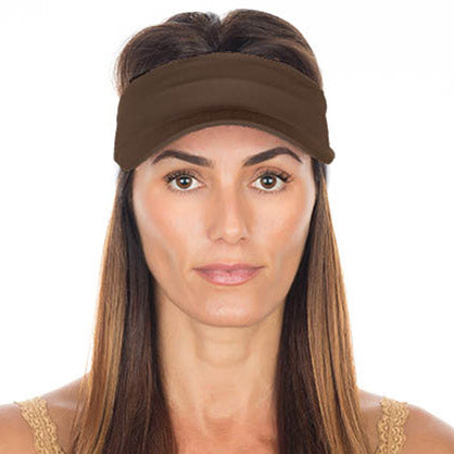 Vero Visor | Chocolate Brown