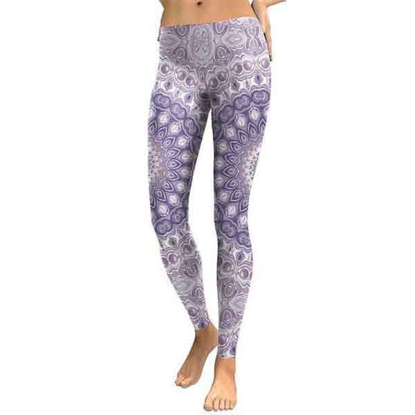 Grey Mandala Leggings
