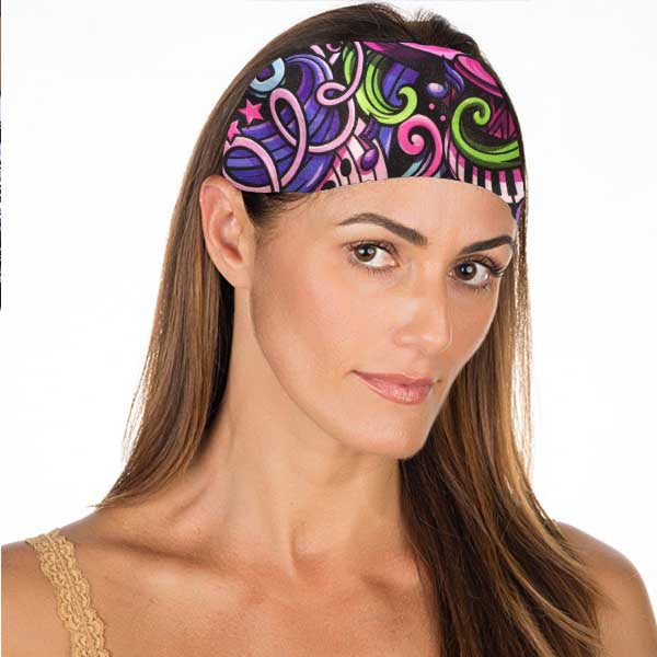 New! Groovy Music No Slip Headband