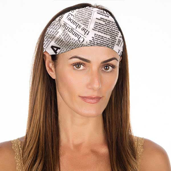 New! Extra! Extra! No Slip Headband
