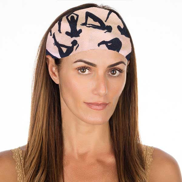 New! Nude Yoga No Slip Headband