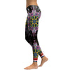 Black Colorful Mandala Leggings