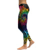 Groovy Mandala High Waist Leggings