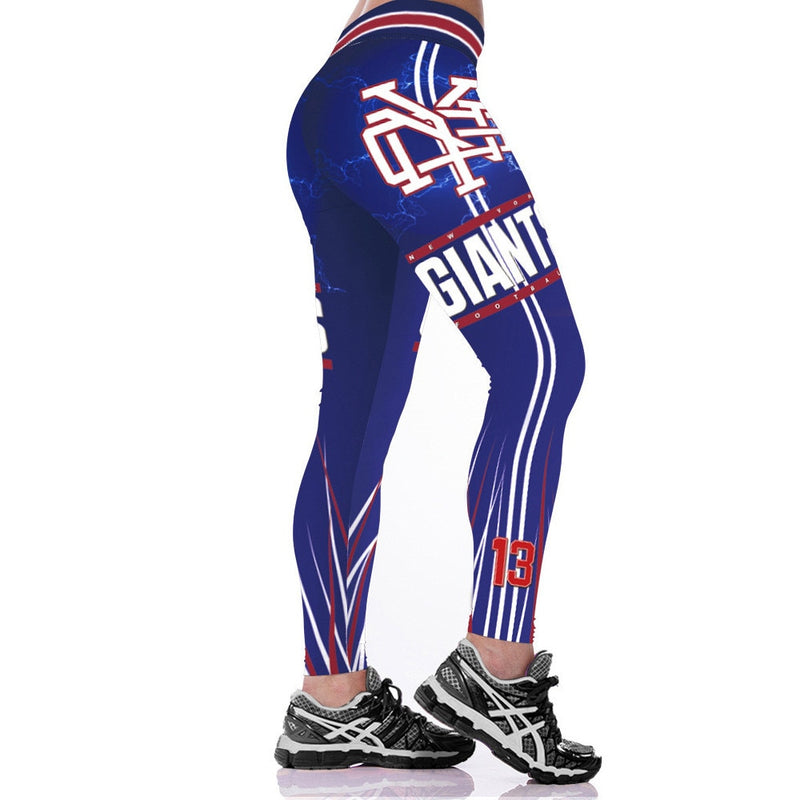 Blue NY Giants Leggings