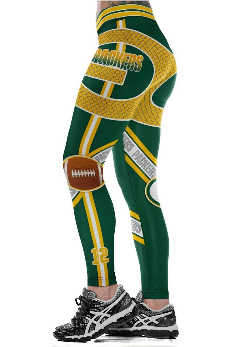 GB Packers Leggings