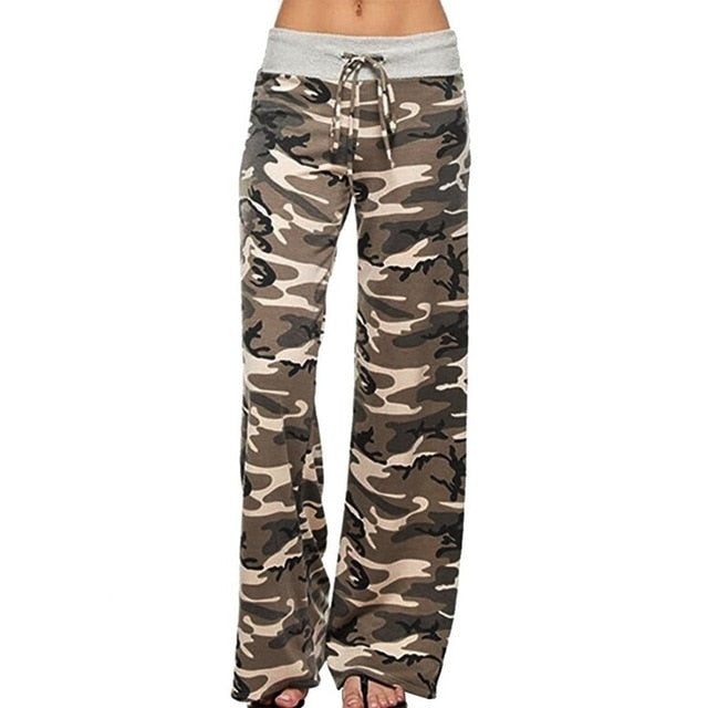 Camo Loose Fit Comfy Lounge Pants