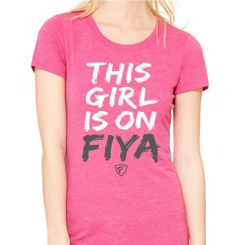 Girl On FIYA Ladies Short Sleeve