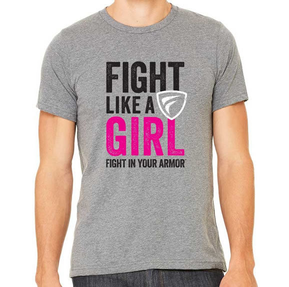 Fight Like A Girl Unisex Tee