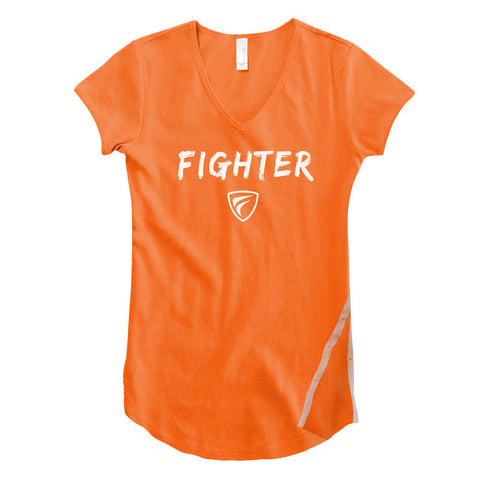 FIYA™ Fighter Tee™ Women's V-Neck