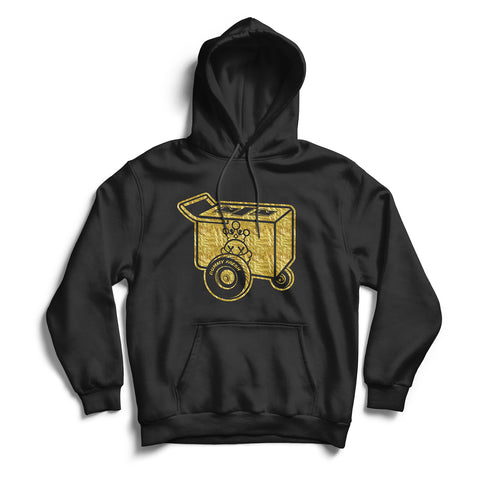 Black Dummy Fresh Paletero Cart Gold