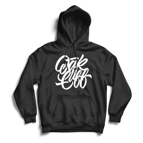 Oak Cliff Hoodie Black & White