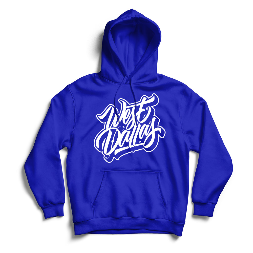 West Dallas Hoodie Blue & White