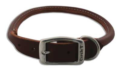 COASTAL Rolled Latigo Collar