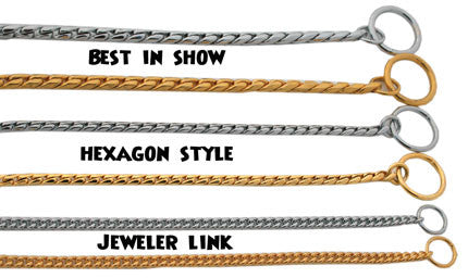 Coastal Best In Show Collar - Chrome 22