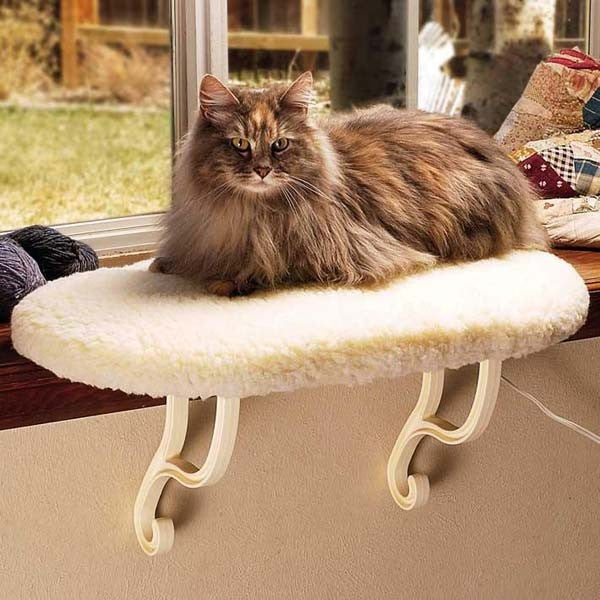K&H Pet Products Thermo Kitty Sill Heated