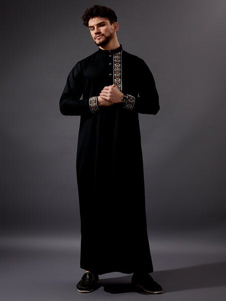 Formal Thobe 19 -  Black Contemporary