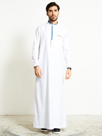 2020 Smart White Thobe (Jubba)