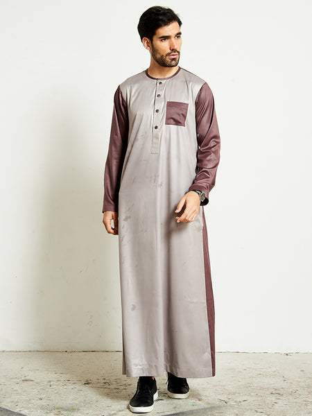 SS20 Casual Mens Pearl Thobe