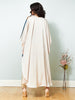 La Scinitllate - HI-LO Neck Embellished Cape with Pants LOOK 21