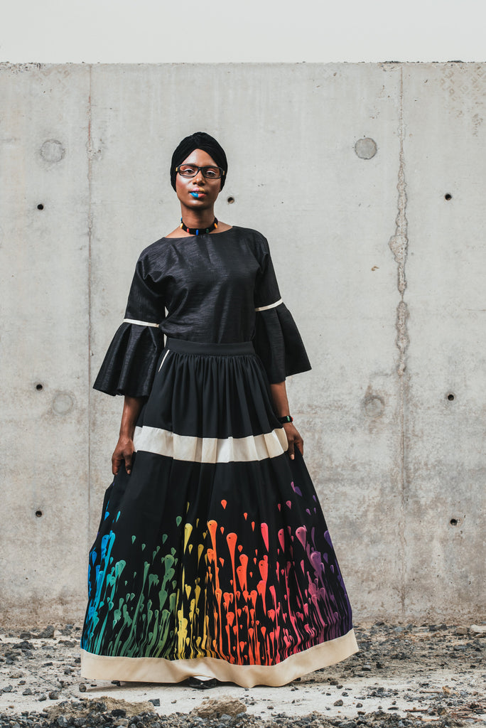 Look 7 - Midnight Rainbow '17