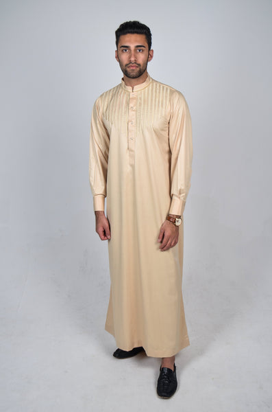 Formal Thobe 18 Beige