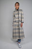 Coat (Checked Grey & Nude)