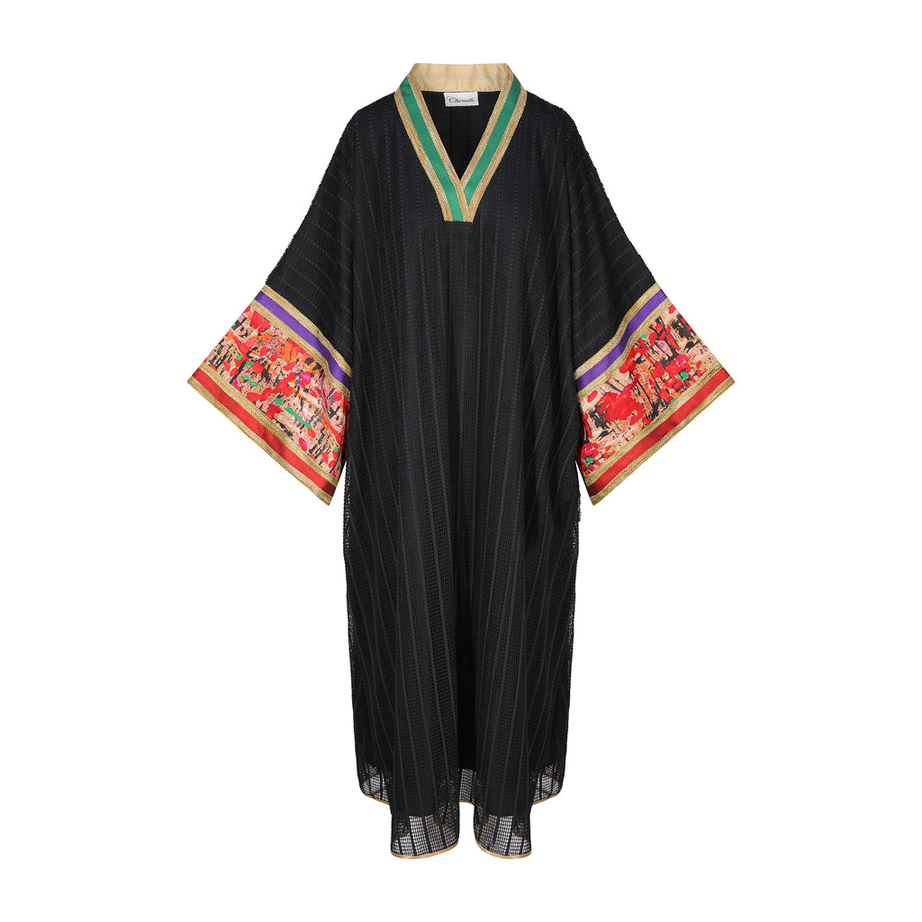 FALL 19 - BLACK KAFTAN